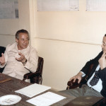 الوزير م.أحمد هلال يستمع إلى عرض من الأنشطة الفنية