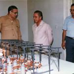 زيارة الوزير م.أحمد هلال لإنبى عام ١٩٨٢