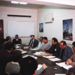 Meeting with gulf of suez gas project manager and leaders
