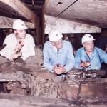 الزيارة الميدانية لمنجم فحم المغارة عام ٢٠٠١