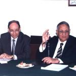 زيارة كلية الهندسة جامعة القاهرة قسم تعدين و يرى العميد أ. د على عبد الرحمن 6/11/2001