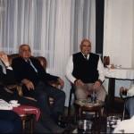 لقاء رواد قطاع البترول على إفطار رمضان / ديسمبر 1998 يرى من اليمين الجيولوجى شوقى عبدين , م.عبد المنعم أبو السعود , د.مصطفى العيوطى , م.عبد الحميد كروش
