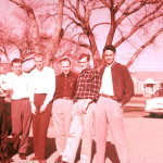 Chemical Engineering graduate students at OU in 1957
