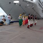 Reception in Kusadasi Port