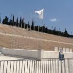 استاد أثينا الأثري بني من الرخام بالكامل