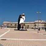 Civitavecchia Port Statue