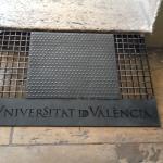 مدخل جامعة فانسيا للأداب - أسبانيا - اكتوبر ٢٠١٣