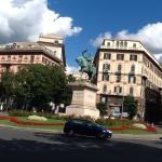 Genoa ,Piazza Garibaldi