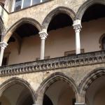 Tarquinius museum , Architecture copied from Andalusia