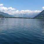 Zell am See , view of the Lake