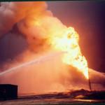 إطفاء حرائق آبار البترول بالكويت ١٩٩٠