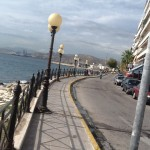Favorite. Piraikis district of Piraeus, scenic corniche with many seafood restaurants