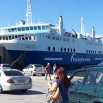 The Saronic ferry to Aegina Island