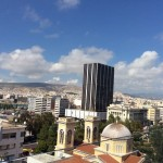 View of Piraeus from the hotel
